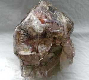 Smokey quartz elestial