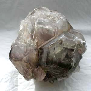 Smokey quartz elestial crystal
